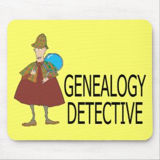 Alfombrilla De Ratón Detective de la genealogía