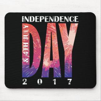 Alfombrilla De Ratón Día de la Independencia y 4 de julio los E.E.U.U.