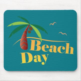 Alfombrilla De Ratón Día perfecto de la playa del verano
