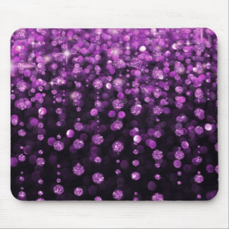 Alfombrilla De Ratón Diamantes púrpuras del brillo