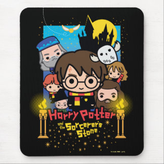 Alfombrilla De Ratón Dibujo animado Harry Potter y la piedra del