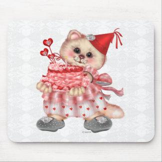 Alfombrilla De Ratón DIBUJO ANIMADO Mousepad del CAT de la TORTA