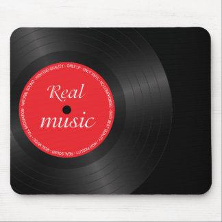 Alfombrilla De Ratón Disco del disco de larga duración del vinilo