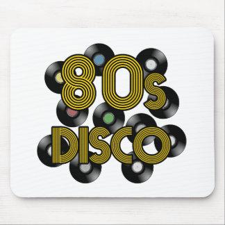 Alfombrilla De Ratón discos de vinilo del disco 80s