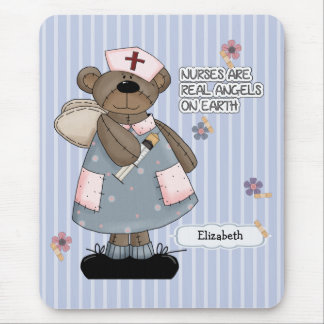 Alfombrilla De Ratón Diseño conocido Mousepad del oso del peluche de la
