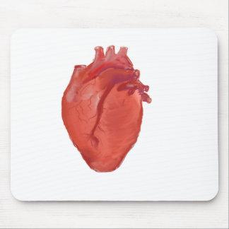 Alfombrilla De Ratón Diseño de la anatomía del corazón