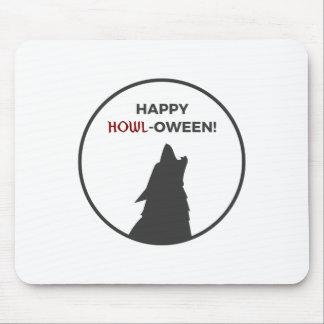 Alfombrilla De Ratón Diseño feliz de Halloween del hombre lobo del