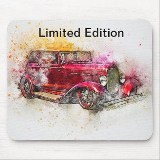 Alfombrilla De Ratón Diseño Mousepad del rosa del vintage de la edición