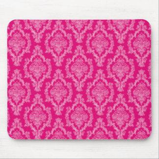 Alfombrilla De Ratón Diseño rosado de la impresión del modelo del