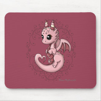 Alfombrilla De Ratón Dragón Mousepad del amor