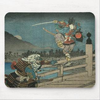 Alfombrilla De Ratón Duelo del samurai