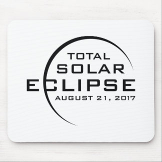 Alfombrilla De Ratón Eclipse solar total 2017