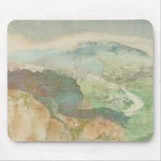 Alfombrilla De Ratón Edgar Degas - paisaje