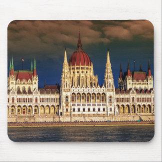 Alfombrilla De Ratón Edificio húngaro del parlamento en Budapest,