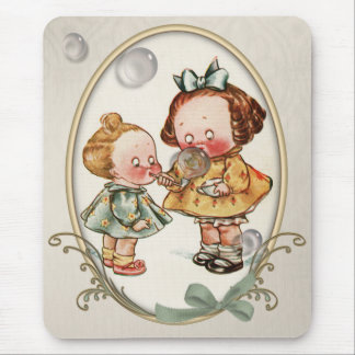 Alfombrilla De Ratón Ejemplo minúsculo Mousepad del vintage de los