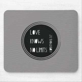 Alfombrilla De Ratón El amor no sabe ningún límite