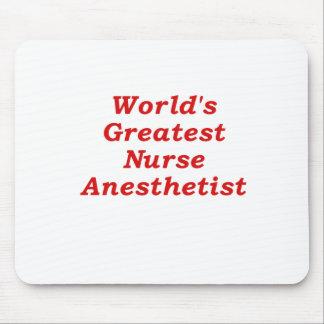 Alfombrilla De Ratón El Anesthetist más grande de los mundos