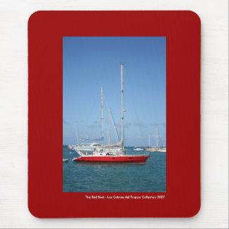 Alfombrilla De Ratón El barco rojo
