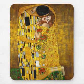 Alfombrilla De Ratón El beso de Gustavo Klimt
