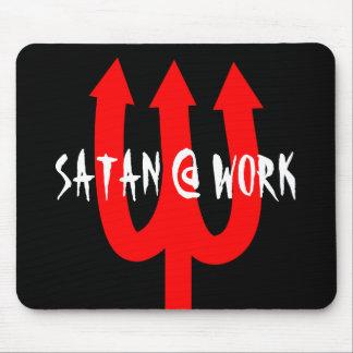 Alfombrilla De Ratón El cojín de ratón satánico divertido con los