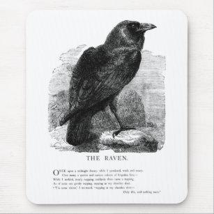Alfombrilla De Ratón El cuervo de Edgar Allen Poe