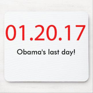 Alfombrilla De Ratón El día pasado de Obama