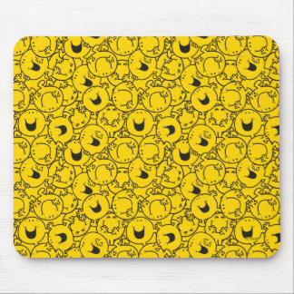 Alfombrilla De Ratón El lote de Sr. Happy el   de amarillo sonríe