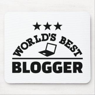Alfombrilla De Ratón El mejor blogger del mundo