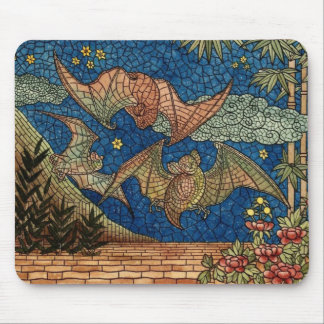 Alfombrilla De Ratón El mosaico golpea Mousepad