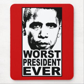 Alfombrilla De Ratón El presidente peor Ever de Obama