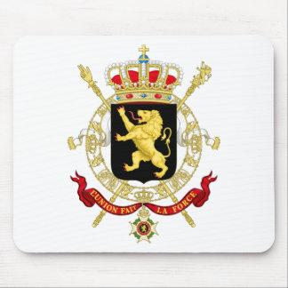 Alfombrilla De Ratón Emblema belga - escudo de armas de Bélgica