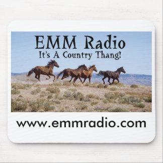 Alfombrilla De Ratón EMM Mousepad de radio