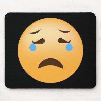 Alfombrilla De Ratón Emoji triste