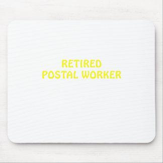 Alfombrilla De Ratón Empleado de correos jubilado