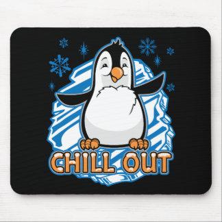 Alfombrilla De Ratón Enfríe hacia fuera el pingüino