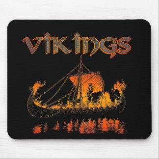 Alfombrilla De Ratón Entierro Mousepad de Viking