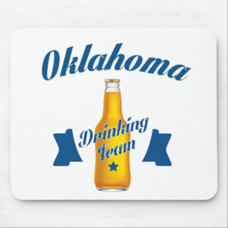 Alfombrilla De Ratón Equipo de consumición de Oklahoma