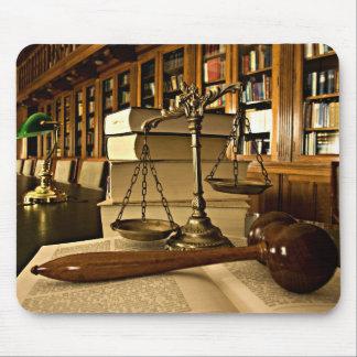 Alfombrilla De Ratón Escalas de Mousepad del abogado del abogado de