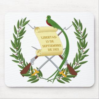 Alfombrilla De Ratón Escudo de armas de Guatemala - escudo de armas