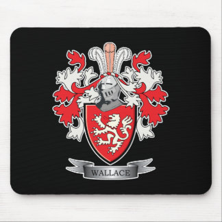 Alfombrilla De Ratón Escudo de armas del escudo de la familia de
