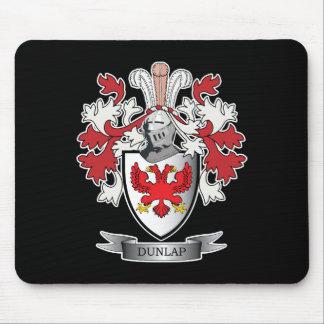 Alfombrilla De Ratón Escudo de armas del escudo de la familia de Dunlap