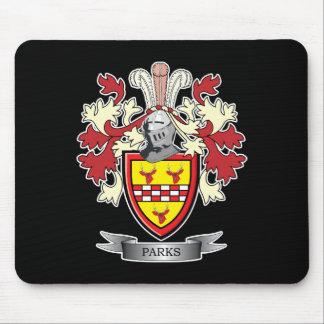 Alfombrilla De Ratón Escudo de armas del escudo de la familia de los