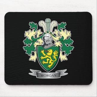 Alfombrilla De Ratón Escudo de armas del escudo de la familia de Morgan