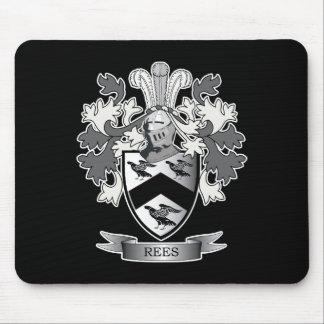 Alfombrilla De Ratón Escudo de armas del escudo de la familia de Rees