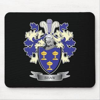 Alfombrilla De Ratón Escudo de armas del escudo de la familia de Shaw