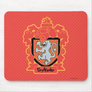 Alfombrilla De Ratón Escudo de Gryffindor del dibujo animado