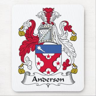 Alfombrilla De Ratón Escudo de la familia de Anderson