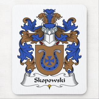 Alfombrilla De Ratón Escudo de la familia de Skopowski
