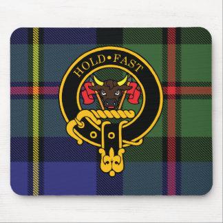 Alfombrilla De Ratón Escudo de Macleod y cojín de ratón escoceses del