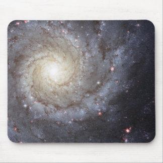 Alfombrilla De Ratón Espacio de la galaxia espiral diseño M74